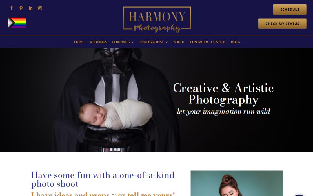 New website brings photographer more calls and higher quality clients