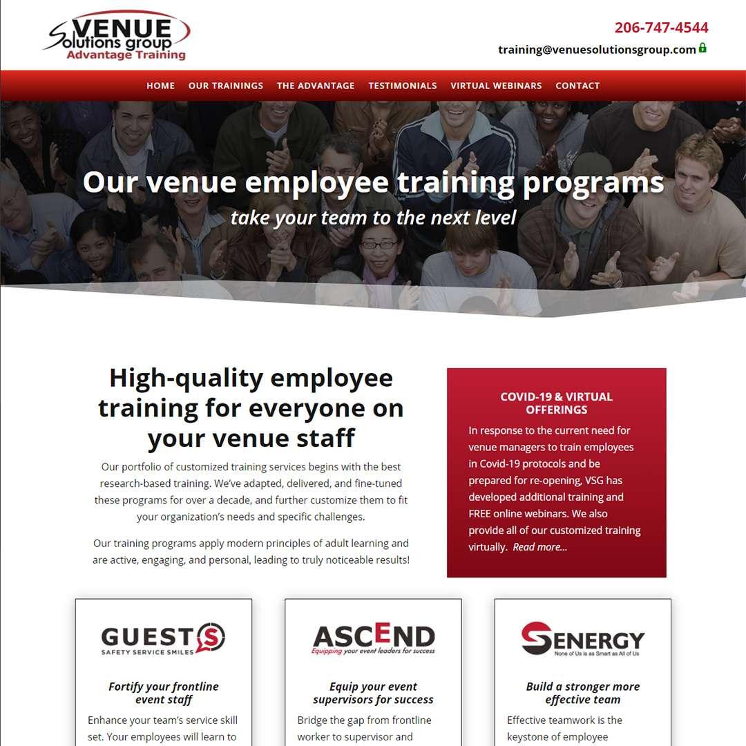 Employee development company website